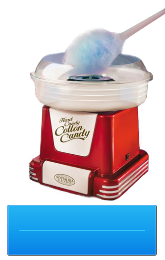 Candy Floss Maker Machine